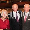 Amb Swanne Hunt, Sen Ed Markey, Tony C Foster. Photo by Patricia McDougall.  2017 National Dialogue Awards. National Press Club. November 16, 2017.