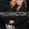 Mele Milton, Portia Davidson. Photo by Alfredo Flores.  2017 National Dialogue Awards. National Press Club. November 16, 2017.