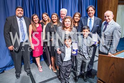 Photo by Alfredo Flores.  2017 National Dialogue Awards. National Press Club. November 16, 2017.