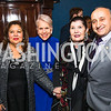 Shaista Mahmood, Jan Du Plain, Judith Terra, Mark Farr.  Photo by Alfredo Flores.  2017 National Dialogue Awards. National Press Club. November 16, 2017.