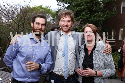 James Vickers, Lucas Spangher, Sigrid Johannisse. Photo by Tony Powell. Netherlands Tulip Reception. April 5, 2017