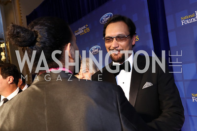 Jimmy Smits. Photo by Tony Powell. 2017 Noche de Gala. Mayflower Hotel. September 11, 2017