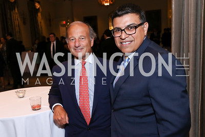 Paul Zevnik, Marcelo Gaete. Photo by Tony Powell. 2017 Noche de Gala. Mayflower Hotel. September 11, 2017