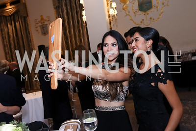 Gabriela Lujambio, Isabella Martinez. Photo by Tony Powell. 2017 Noche de Gala. Mayflower Hotel. September 11, 2017