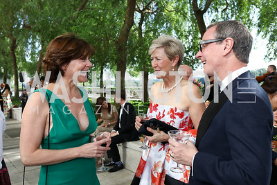 Tamara Bigalow, Lisa Vandenburgh, Timm Whitney. Photo by Tony Powell. 2017 Opera Ball. Kennedy Center. June 3, 2017