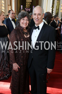 Carol Schwartz, John Caliste. Photo by Tony Powell. 2017 Opera Ball. Kennedy Center. June 3, 2017