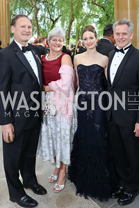 Justice Samuel Alito and Martha Ann Alito, Julie Kent and Victor Barbee. Photo by Tony Powell. 2017 Opera Ball. Kennedy Center. June 3, 2017