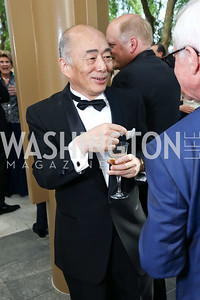 Japan Amb. Kenichiro Sasae. Photo by Tony Powell. 2017 Opera Ball. Kennedy Center. June 3, 2017