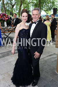 Julie Kent and Victor Barbee. Photo by Tony Powell. 2017 Opera Ball. Kennedy Center. June 3, 2017