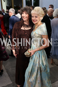 Carol Schwartz, Carol Lascaris. Photo by Tony Powell. 2017 Opera Ball. Kennedy Center. June 3, 2017