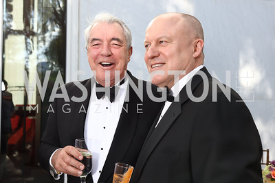 Philip Bermingham Richard Ware. Photo by Tony Powell. 2017 Opera Ball. Kennedy Center. June 3, 2017