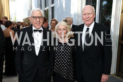 David Rubenstein, Marcelle Leahy, Sen. Patrick Leahy. Photo by Tony Powell. 2017 Opera Ball. Kennedy Center. June 3, 2017