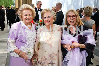 Mary Mochary, Jacqueline Badger Mars, Gilan Corn. Photo by Tony Powell. 2017 Opera Ball. Kennedy Center. June 3, 2017