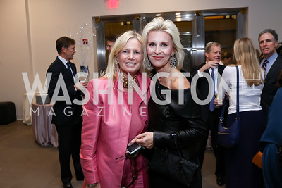 Susan Blumenthal, Mary Haft. Photo by Tony Powell. 2017 PEN Faulkner Gala. The Showroom. October 16, 2017