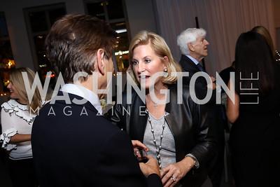 Robert Haft, Suzanne Minshall. Photo by Tony Powell. 2017 PEN Faulkner Gala. The Showroom. October 16, 2017
