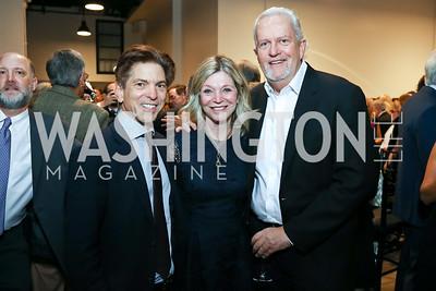 Robert Haft, Kay Kendall and Jack Davies. Photo by Tony Powell. 2017 PEN Faulkner Gala. The Showroom. October 16, 2017