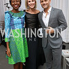Imbolo Mbue, Mary Haft, Alexander Maksik. Photo by Tony Powell. 2017 PEN Faulkner Gala. The Showroom. October 16, 2017