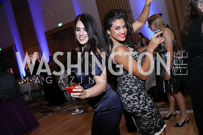 Valeria Almada, Monica Leon. Photo by Tony Powell. 2017 Capital Caring Gala. MGM National Harbor. November 11, 2017