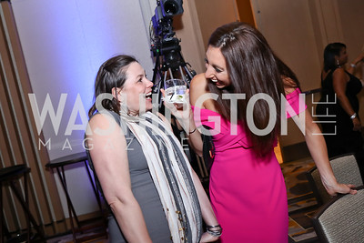 Liza Brlansky, Katie Lavelle. Photo by Tony Powell. 2017 Capital Caring Gala. MGM National Harbor. November 11, 2017