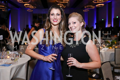 Katie Archut, Jenn Sanz. Photo by Tony Powell. 2017 Capital Caring Gala. MGM National Harbor. November 11, 2017