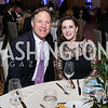 Sen. Evan Bayh, Vickie Kennedy. Photo by Tony Powell. 2017 Capital Caring Gala. MGM National Harbor. November 11, 2017