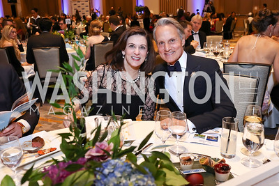 Monte Durham, Vickie Kennedy. Photo by Tony Powell. 2017 Capital Caring Gala. MGM National Harbor. November 11, 2017