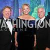 Tom Koutsoumpas, Malene Davis, Dr. Perry Fine. Photo by Tony Powell. 2017 Capital Caring Gala. MGM National Harbor. November 11, 2017