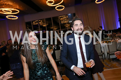 Regan Summers, Jason Zuccari. Photo by Tony Powell. 2017 Capital Caring Gala. MGM National Harbor. November 11, 2017