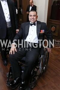 Cpl. Joshua Himan. Photo by Tony Powell. 2017 PenFed Night of Heroes Gala. Trump Hotel. May 4, 2017