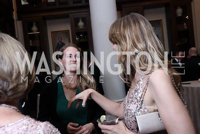 Maren Chamorro, Kevyn Myers. Photo by Tony Powell. 2017 PenFed Night of Heroes Gala. Trump Hotel. May 4, 2017