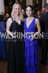 Alexa Graham, Carsen Zarin. Photo by Tony Powell. 2017 PenFed Night of Heroes Gala. Trump Hotel. May 4, 2017