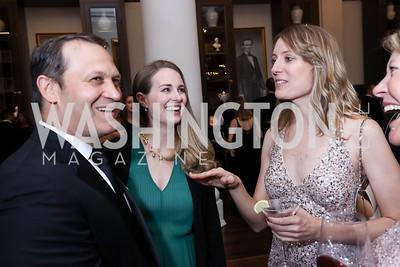Ricardo Chamorro and Maren Chamorro, Kevyn Myers. Photo by Tony Powell. 2017 PenFed Night of Heroes Gala. Trump Hotel. May 4, 2017
