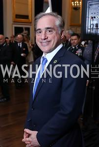 Veterans Affairs Sec. David Shulkin. Photo by Tony Powell. 2017 PenFed Night of Heroes Gala. Trump Hotel. May 4, 2017
