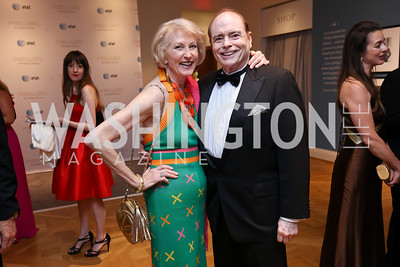 Lola Reinsch, Bill Detty. Photo by Tony Powell. 2017 Phillips Collection Gala. May 19, 2017