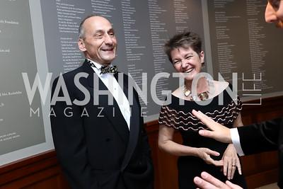 Thomas Krahenbuhl and Dorothy Kosinski. Photo by Tony Powell. 2017 Phillips Collection Gala. May 19, 2017