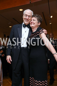 George Vradenburg, Dorothy Kosinski. Photo by Tony Powell. 2017 Phillips Collection Gala. May 19, 2017