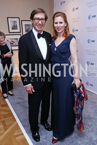 Germany Amb. Peter Wittig, Huberta Wittig. Photo by Tony Powell. 2017 Phillips Collection Gala. May 19, 2017