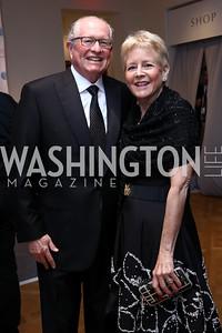 Harold and Nancy Zirkin. Photo by Tony Powell. 2017 Phillips Collection Gala. May 19, 2017