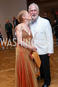 Barbara and Robert Liotta. Photo by Tony Powell. 2017 Phillips Collection Gala. May 19, 2017