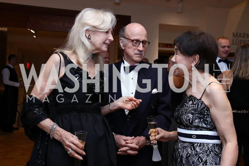 Willee Lewis, Finlay Lewis, Rep. Doris Matsui. Photo by Tony Powell. 2017 Phillips Collection Gala. May 19, 2017