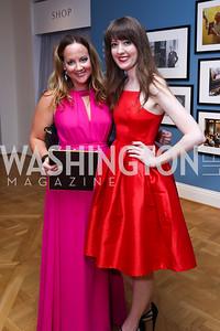 Amanda Hunter, Sarah Corley. Photo by Tony Powell. 2017 Phillips Collection Gala. May 19, 2017