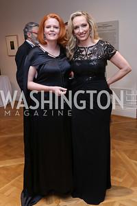 Noreen Major, Karen Wawrzaszek. Photo by Tony Powell. 2017 Phillips Collection Gala. May 19, 2017