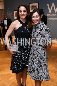 Jessica Lang, Lindsay Ellenbogen. Photo by Tony Powell. 2017 Phillips Collection Gala. May 19, 2017