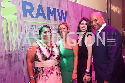 Ishi Patterson, Kathy Hollinger, Eden Jenkins, Tony Hollinger. Photo by Tony Powell. 2017 RAMMY Awards. Convention Center. July 30, 2017