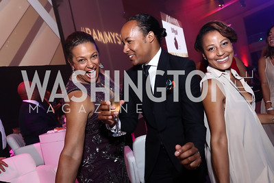 Debbi Jarvis, Paul Wharton, April Byrd. Photo by Tony Powell. 2017 RAMMY Awards. Convention Center. July 30, 2017