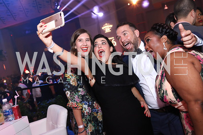 Lauren Alexander, Ashley Levy, Josh Freed, Ishi Patterson. Photo by Tony Powell. 2017 RAMMY Awards. Convention Center. July 30, 2017