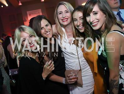 Jessica Berman, Elizabeth Geny, Margaret Chaffee, Ellen Kaplan, Alexis Spero. Photo by Tony Powell. 2017 RAMMY Awards. Convention Center. July 30, 2017