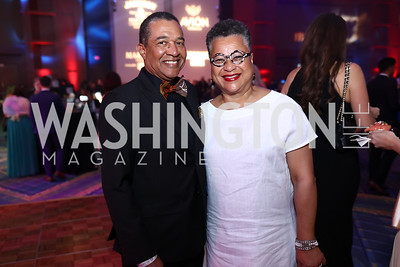Wendell and Marie Johns. Photo by Tony Powell. 2017 RAMMY Awards. Convention Center. July 30, 2017