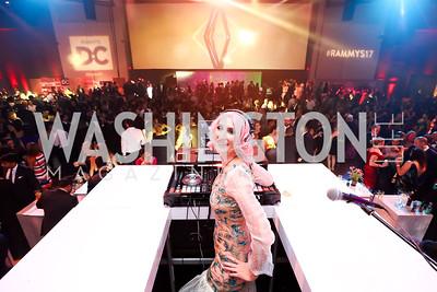 DJ Neekola. Photo by Tony Powell. 2017 RAMMY Awards. Convention Center. July 30, 2017