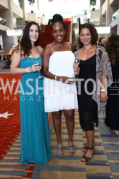 Lisa Wood, Ashley Mason-Greene, Megan Segarra. Photo by Tony Powell. 2017 RAMMY Awards. Convention Center. July 30, 2017